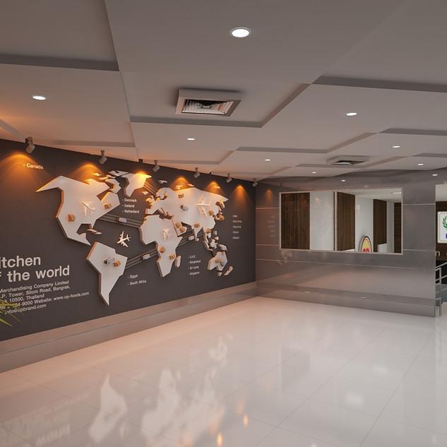 World Map Room Design