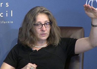 Professor Carol Cristine Fair of Georgetown University.