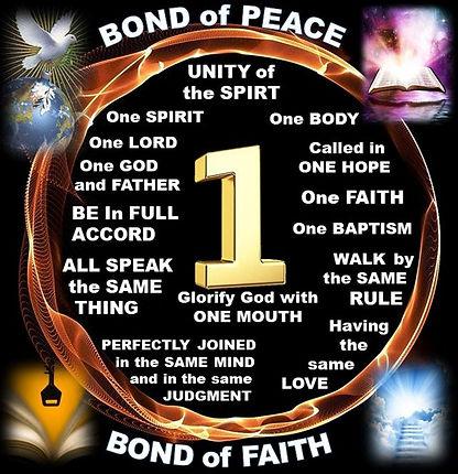 Unity of the church Christ built One chu
