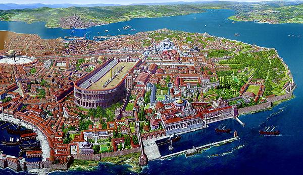 Constantinople-scale-model-Bosporus-1300.jfif