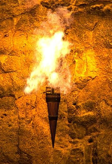 torch-on-gold-background-light-of-prophe