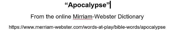 Apocalypse-Mirriam-Webster.JPG