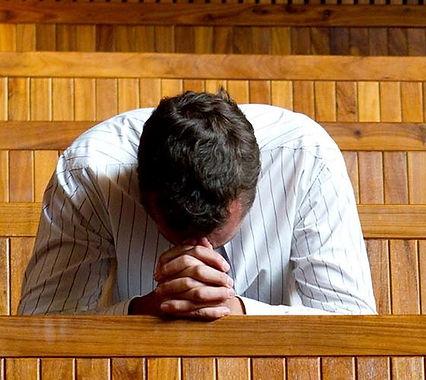 Praying in church.JPG