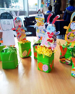 Recycled Rabbits Chirk Library - alipick