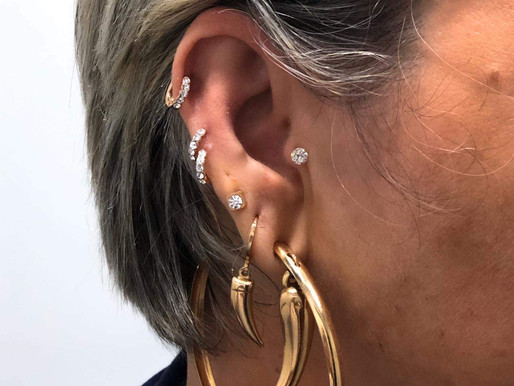 Os combos de piercing de orelha mais belos do centro do rio de janeiro,(estúdio smokedragon)