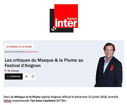 Le Masque et la Plume / France Inter