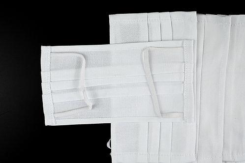 5er-Set Mund- und Nasenmasken 100% Baumwolle