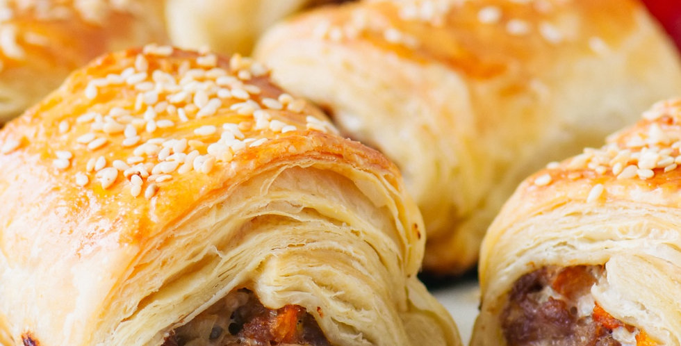 Appetisers - Homemade Sausage Rolls