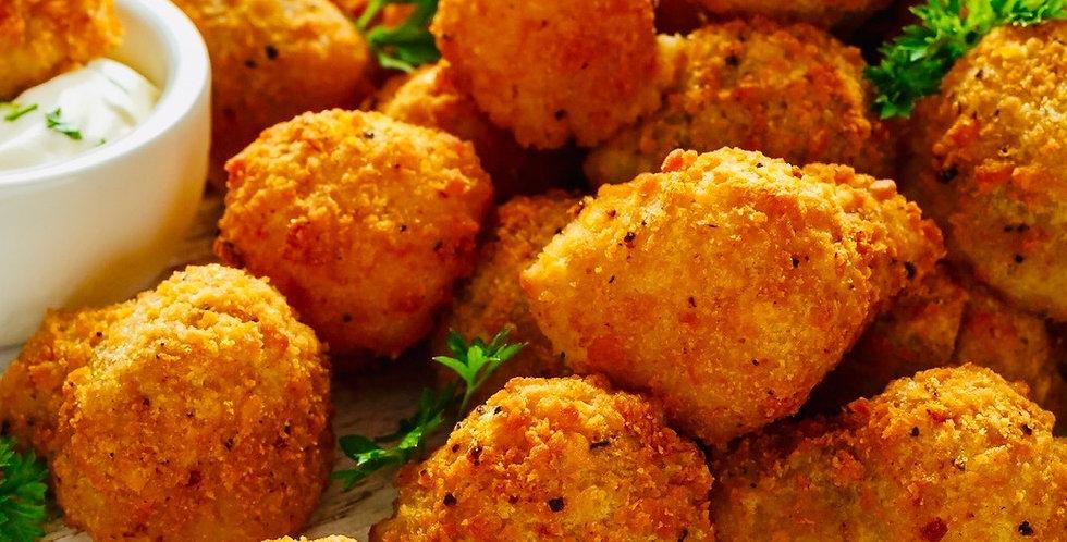 Breaded Mushrooms (12 Pieces)
