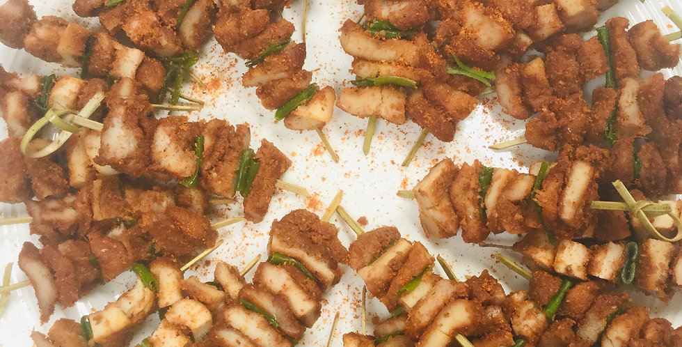 Canapés - Chicken Suya