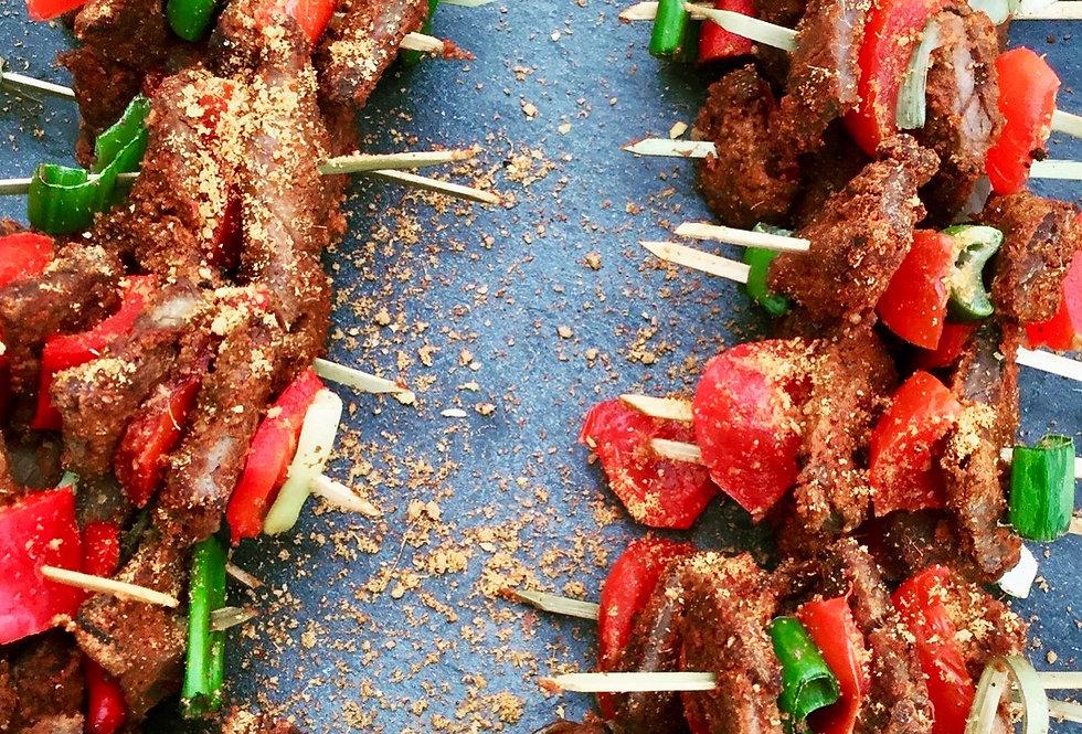 Beef Suya Canapés