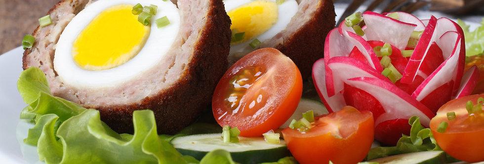 Appetisers - Scotch Egg Halves