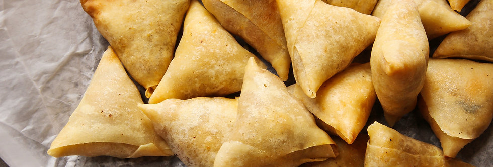 Small Chops Catering - Samosas
