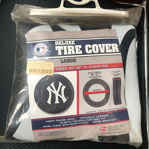 Deluxe New York Yankees Tire Cover