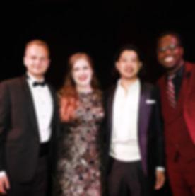 2019 winners: Kamil Bien, Katherine McIndoe, Kyu Choi and Thando Zwame