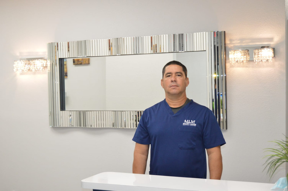 Meet the team Miami Lakes Medical Center's. Meet  Luis Gonzalez
