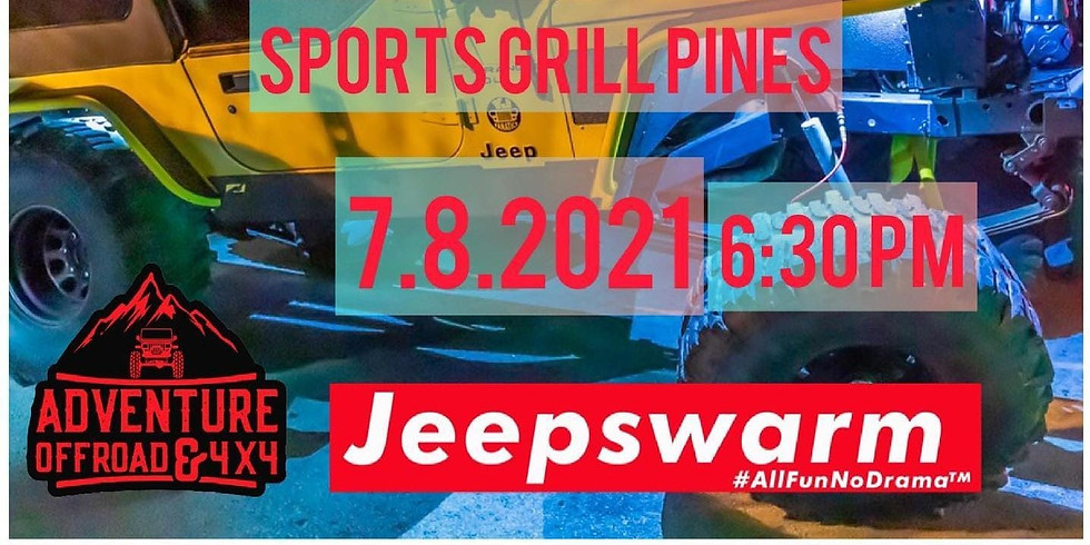 Join Jeep Squad will be sports grill pines