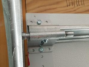 garage door top bracket