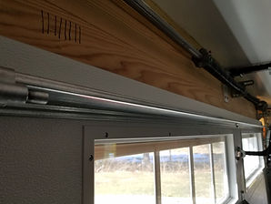 garage door strut bar