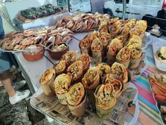 מיני טורטיות בשר