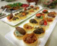 מגש אירוח טרטלטים בשרי
