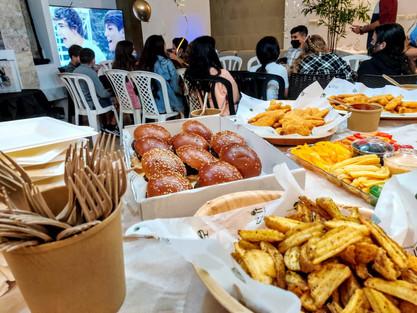 שולחן ילדים באירוע בת מצווה