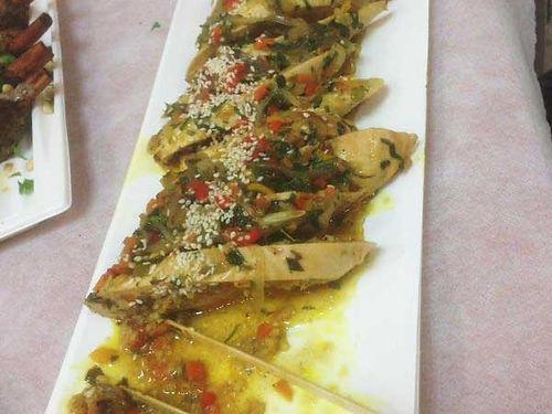 רולדת חזה עוף - מנות בשריות מהמטבח החם של קייטרינג איט איט