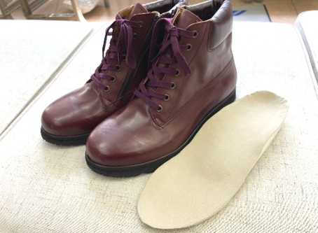 【靴型装具】カッコよく履けちゃうんです。
