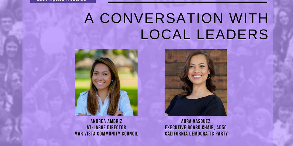 Women's History Month Celebration in Conversation w/ Local Leaders
