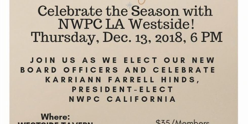NWPC LA Westside Holiday Party and Board Elections!