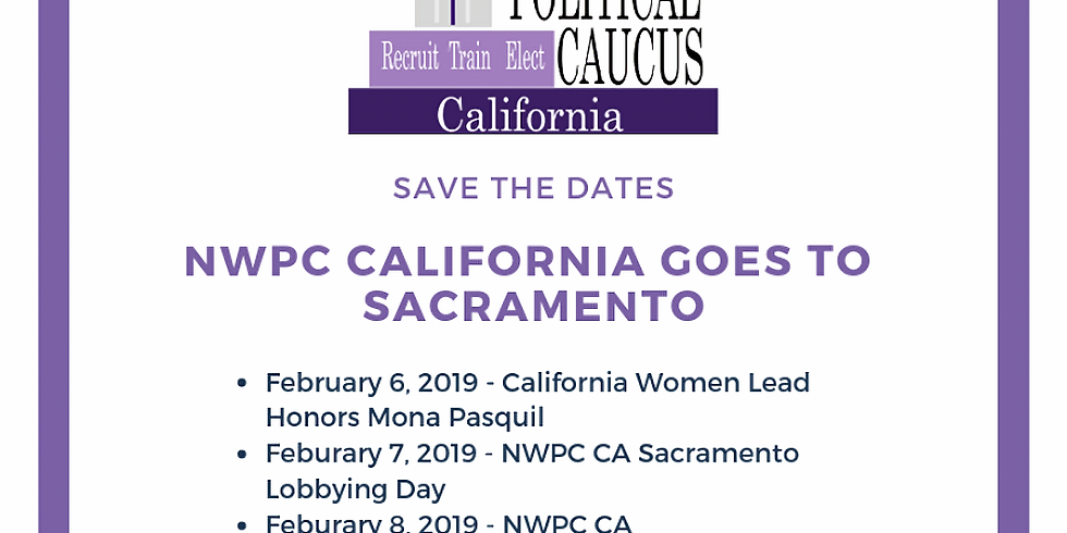 National Women's Political Caucus of California 2019 February Board Meeting