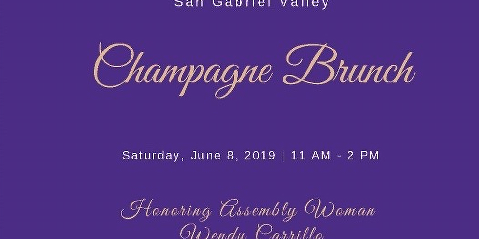 Champagne Brunch Honoring Assemblywoman Wendy Carrillo