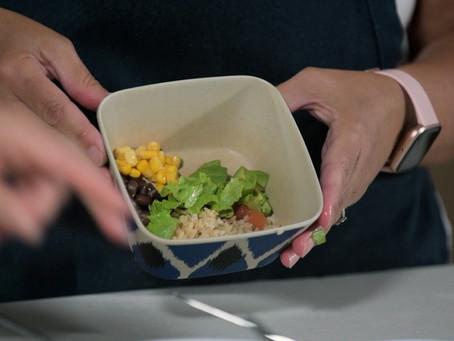 Food & Families: Burrito Bowls