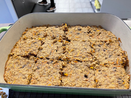 From The North Grove's Kitchen: Carrot Cake Oatmeal Breakfast Bars