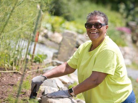 Maxine's Story: Life-time Gardener, First-time Plotter