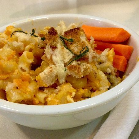 From The North Grove's Kitchen: Macaroni and Cheese with Sweet Potato