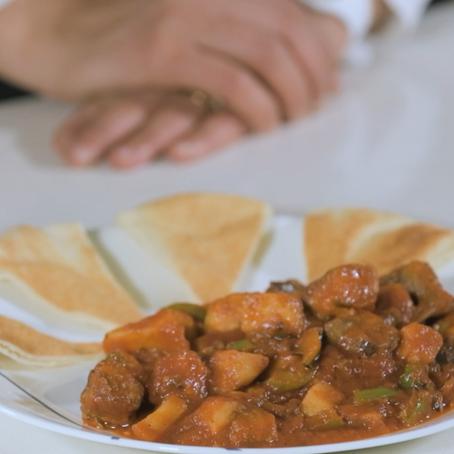 Food & Families: Healthy Vegetarian Moussaka Recipe