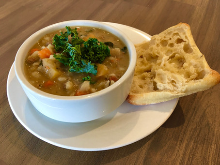 From The North Grove's Kitchen: Quick Beef and Barley Soup