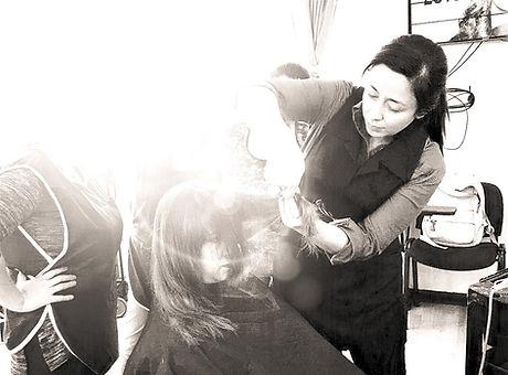 Peluquería especializada en color del cabello