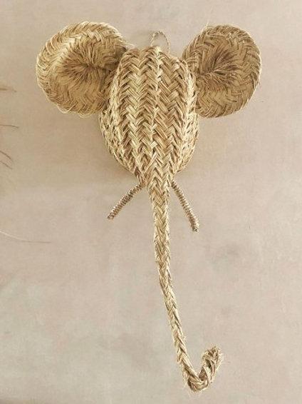 Trophée tête d'Eléphant