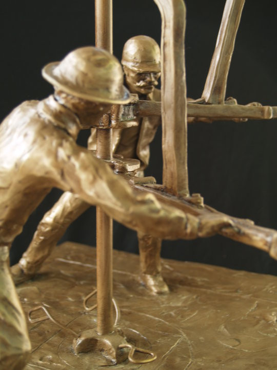 strength of the oil field  detail Tracy H Sugg sculptor.jpg