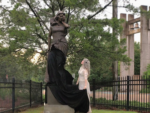 """Sculptor's Muse: Unveiling of  """"Rachel Weeping"""""""