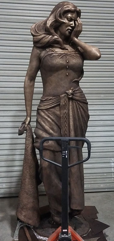 Tracy H Sugg Sculptor bronze casting