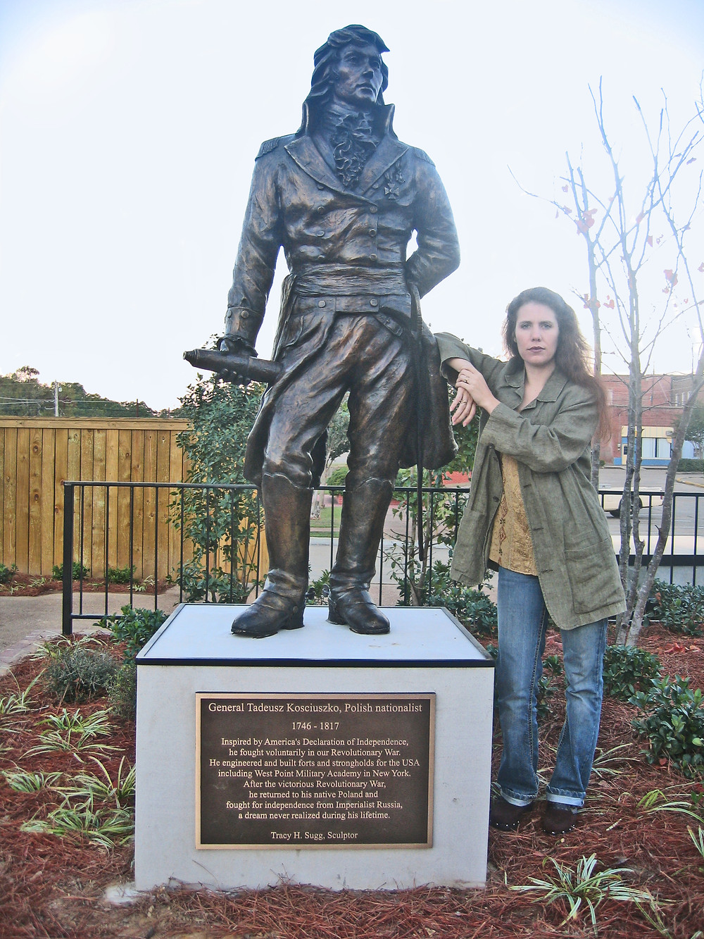Kosciuszko monument unveiled in 2006