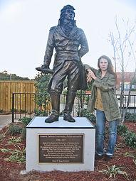 General Tadeusz Kosciuszko bronze monument Tracy H Sugg.jpg