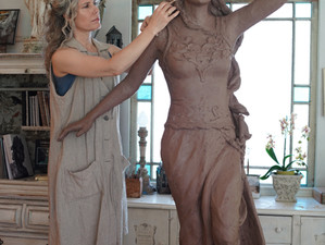 Sculptor's Muse: Work in the Studio
