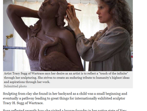 Sculptor's Muse: Lovely local article