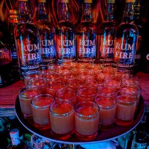 Jasper's Rum Fire Shots
