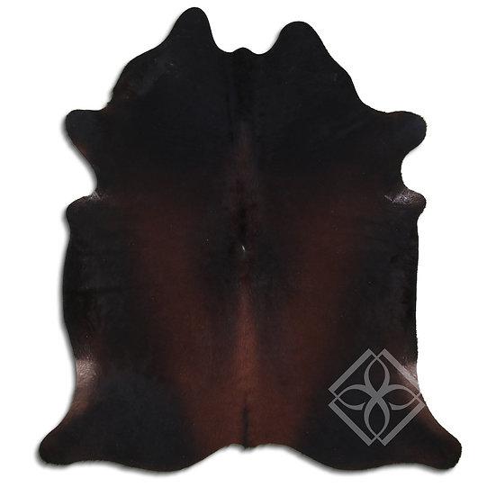 Dark Brown Cowhide Rugs