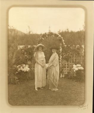 Alice Dey Carpenter and Anna Louise VDB